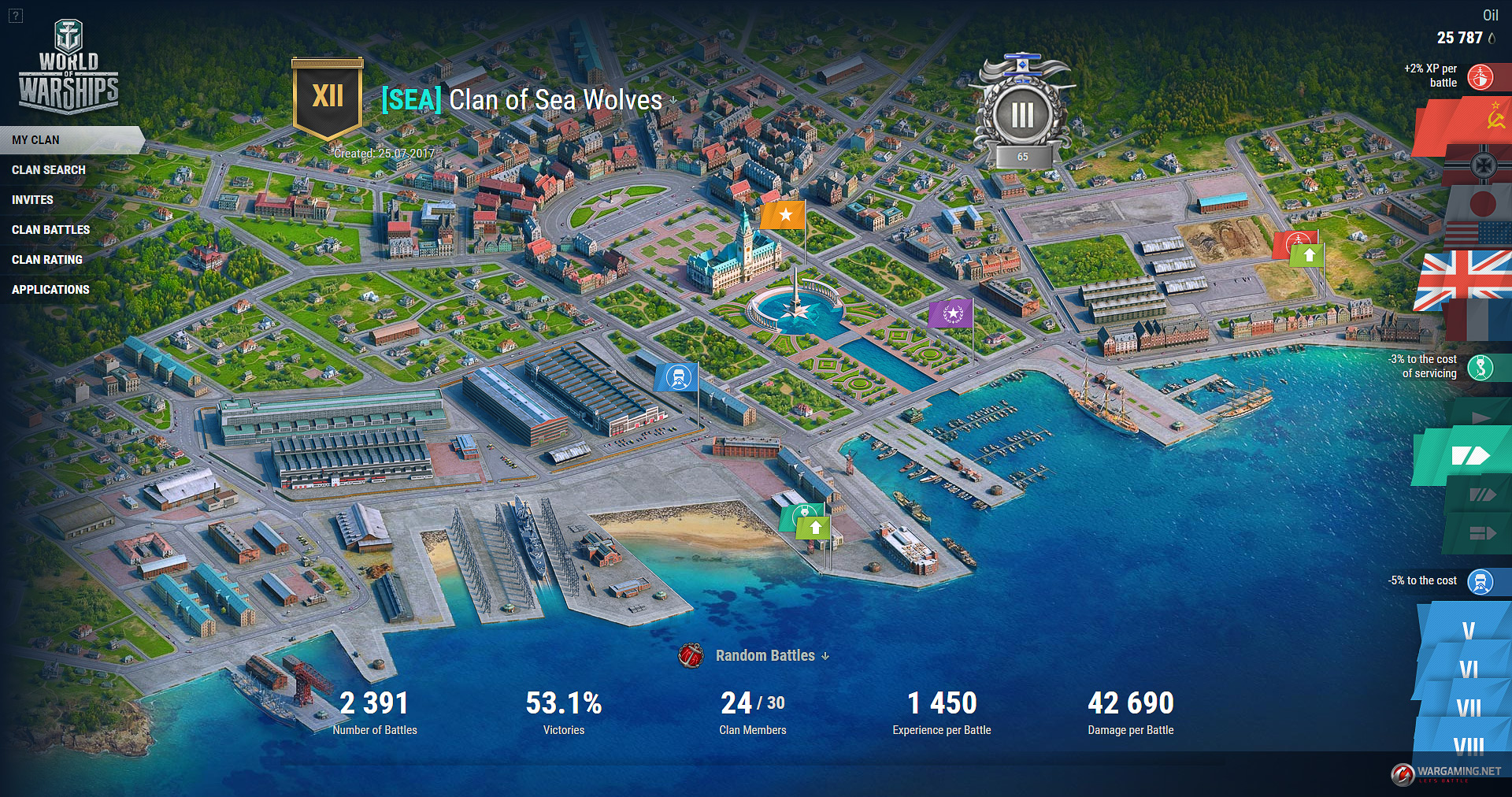 world of warships how to change alternate battle interface